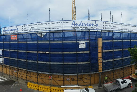 the perfect aluminium scaffolding from andersons scaffolding