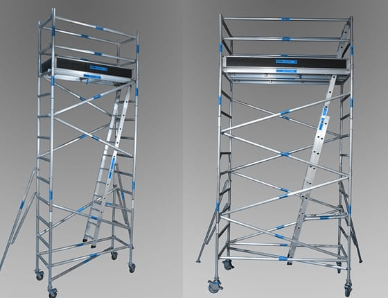 aluminium mobile towers from andersons scaffolding