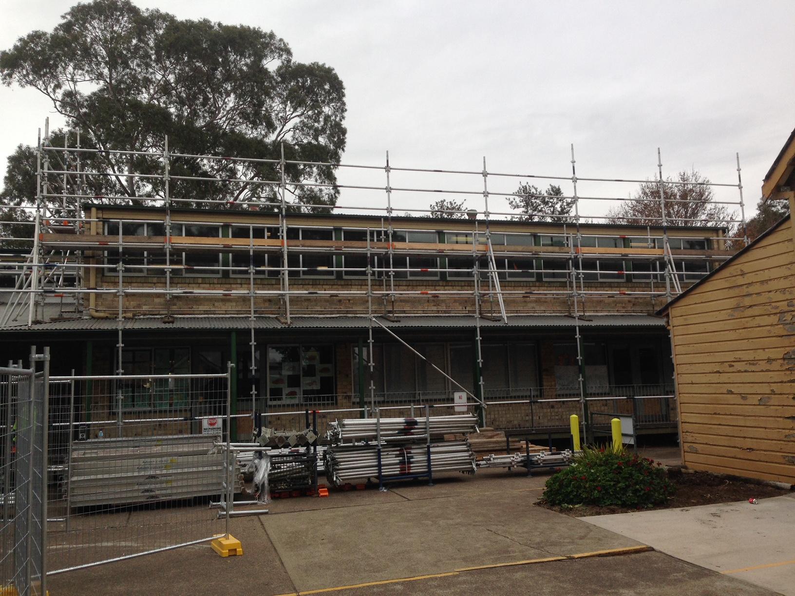 aluminium quickstage scaffolding singleton public school