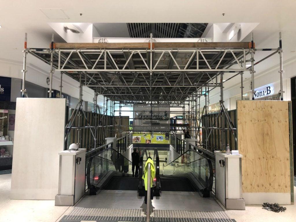 Andersons scaffolding Terrace